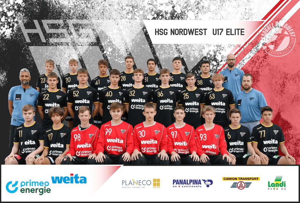 Teambild HSG NW U17 Elite 2020_2021 Kopie