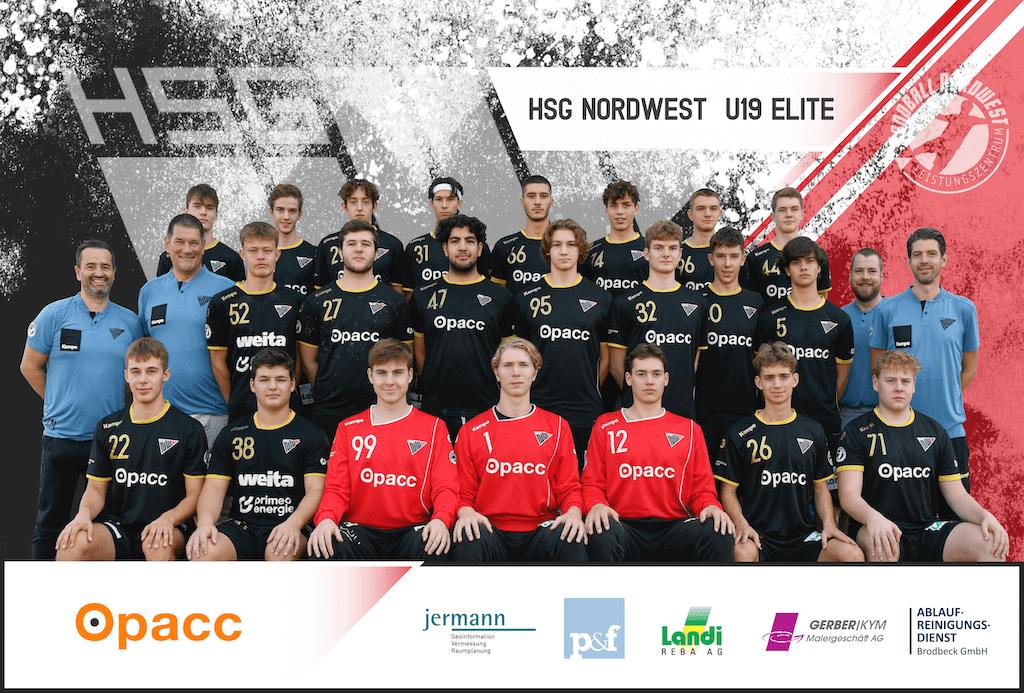 Teambild HSG NW U19 Elite 2020_2021 Kopie