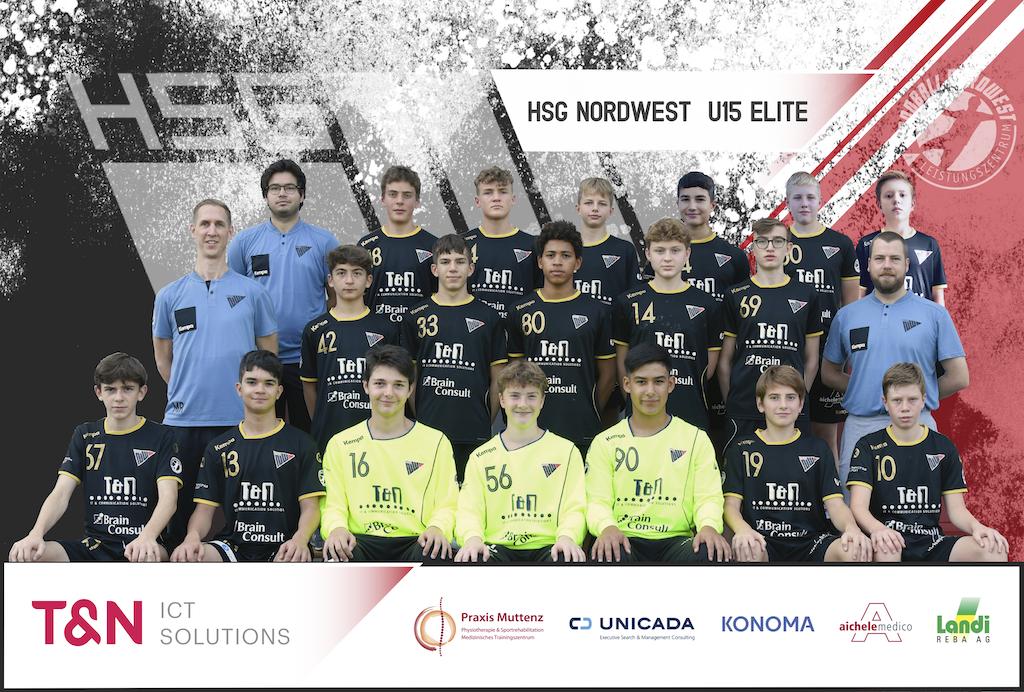 Teambild HSG Nordwest U15 Elite