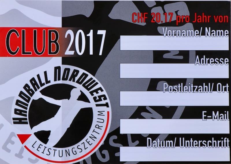 Club 2017 Handball Nordwest – Leistungszentrum