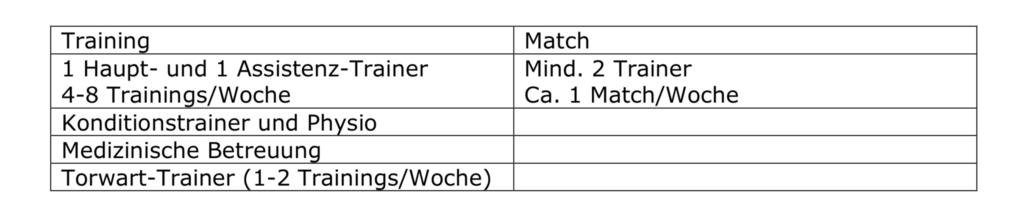 Sportlicches Konzept Handball Nordwest - Leistungszentrum