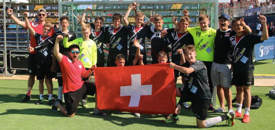 Partille Cup 2018 Silber im B-Final für die U15