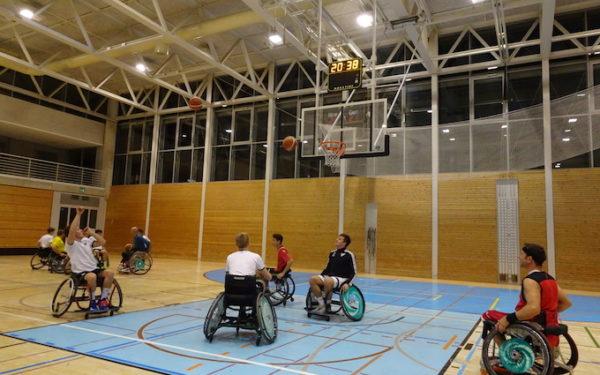 Teamevent Rollstuhlbasketball
