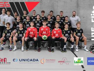 HSG Nordwest U15 Mannschaftsfoto