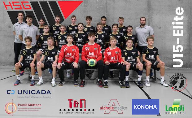 HSG MU15 Elite Mannschaftsfoto