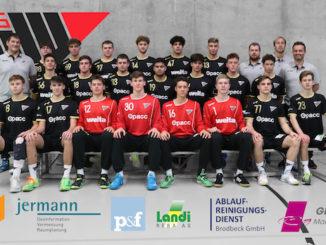 HSG Nordwest U19 Mannschaftsfoto