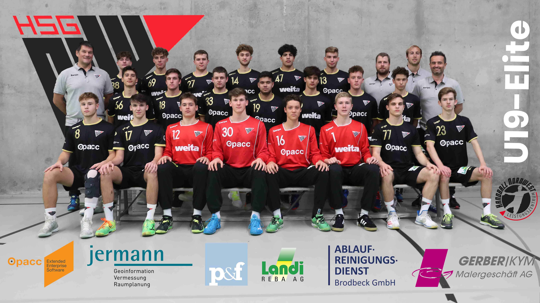 U19E Mannschaftsfoto