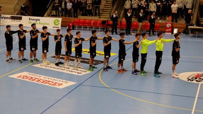 MU19E HSC Suhr Aarau- HSG Nordwest Nationalhymne