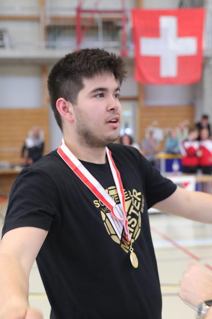 Chairo KaufmannSchweizermeister