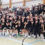 Mannschaftsfoto Schweizermeister HSG Nordweat U19 Elite