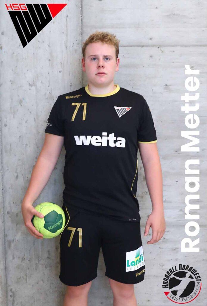 Metter Roman 1920 U19E Portrait HP