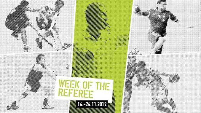 «Week of the Referee» Würdigung von Höchstleistungen im Hintergrund