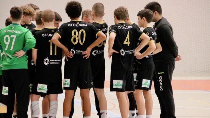 Handball Live U15 Elite HSG Nordwest Breit abgestützter Sieg