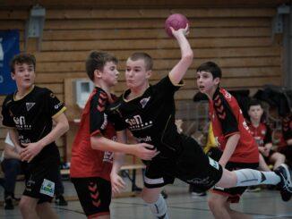 Handball Lucas Wenk Sprungwurf