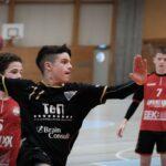 Handball Wurf Luis Boss