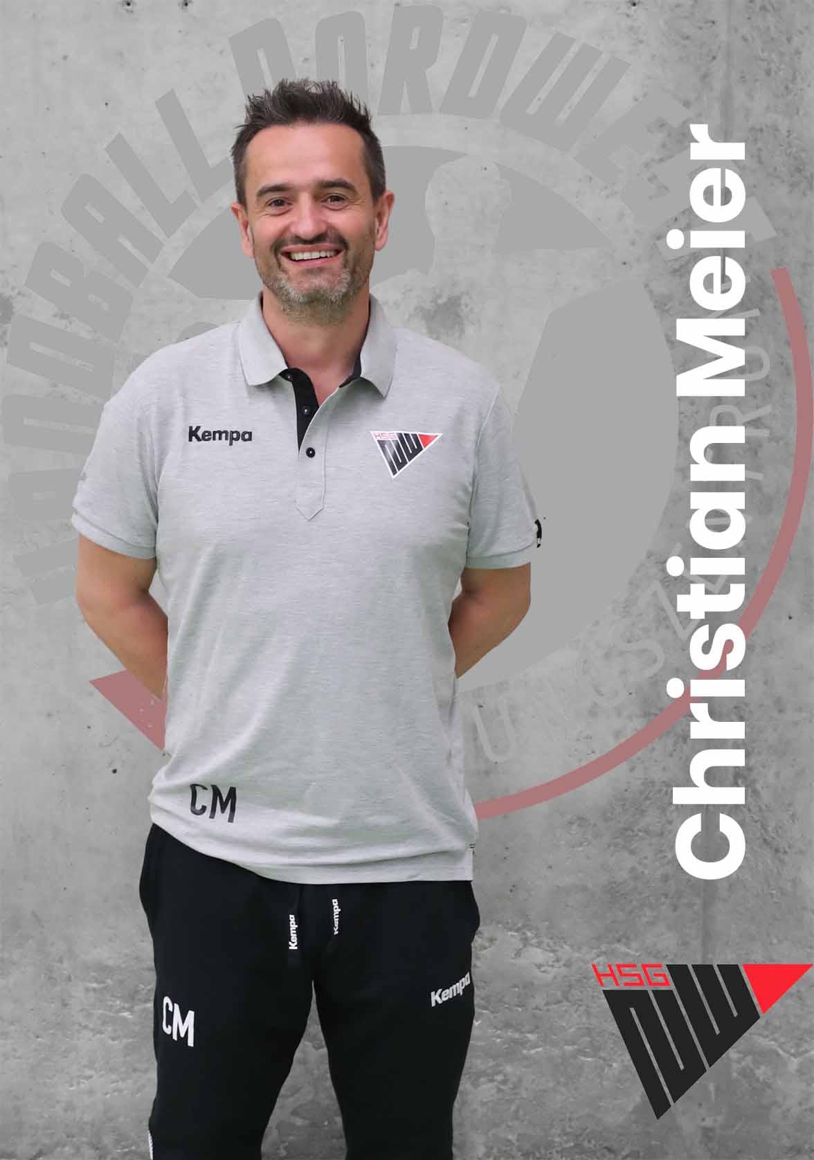 Christian Meier als Cheftrainer der U19 Elite