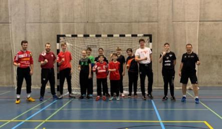 Gruppenfoto nach dem Goalitraining
