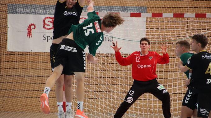 Handball U19-Elite: HSG Nordwest - SG Lakeside Wacker-Steffisburg
