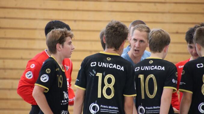 Teamtimeaout HSG Nordwest - U15 Elite: Gossau holte sich den Sieg in Birsfelden