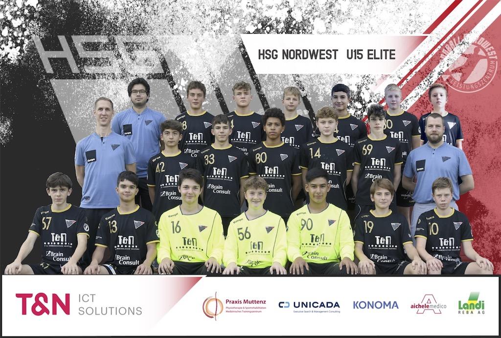 U15 Elite 2020_2021_Teambild