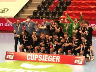 Gruppnebild HSG Nordwest U19 Elite Cupsieger